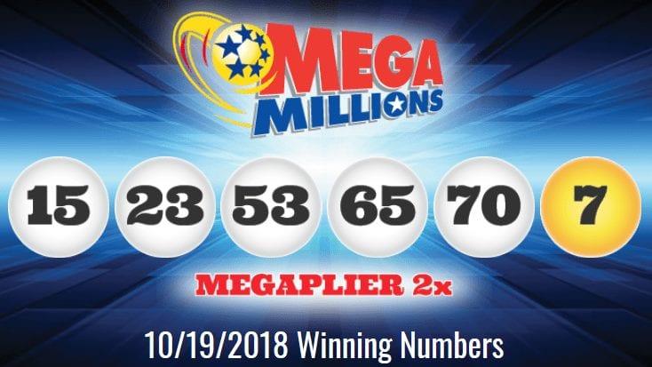 50% korting online verkoop online winkel Mega Millions ticket sold in California matches five of the ...