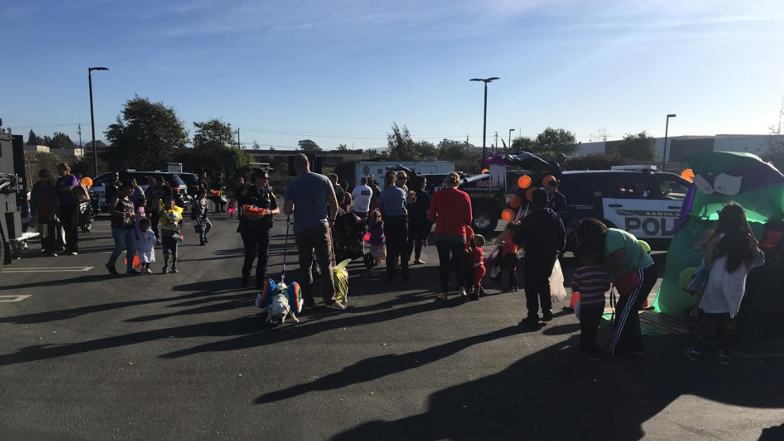 SMPD trunk-or-treat