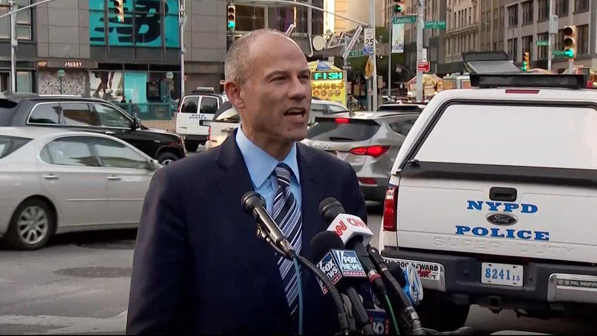 Michael Avenatti is in police custody for allegations of domestic violence. Photo: NBC MediaBeach