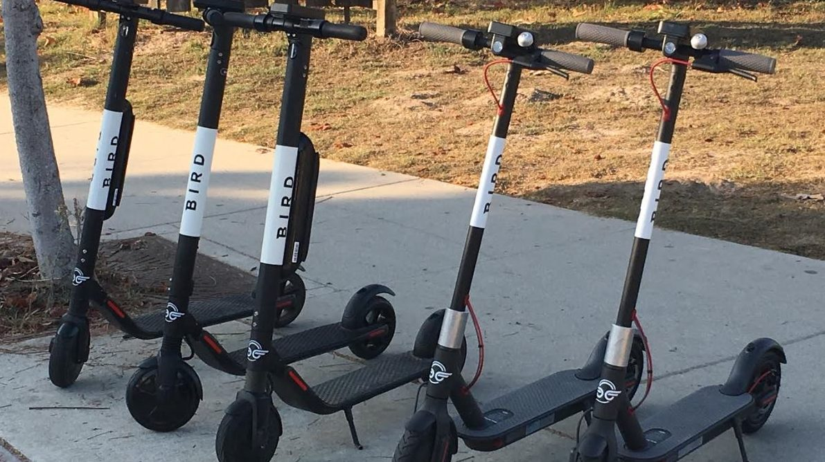 Motorized scooters