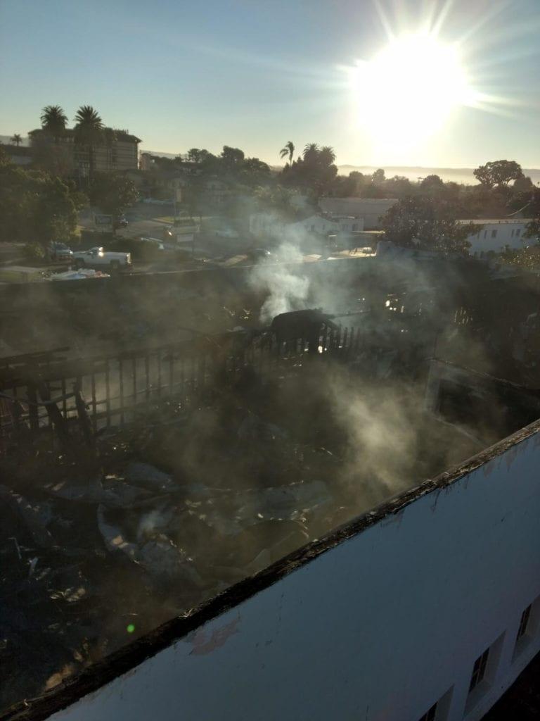 Santa Maria building fire