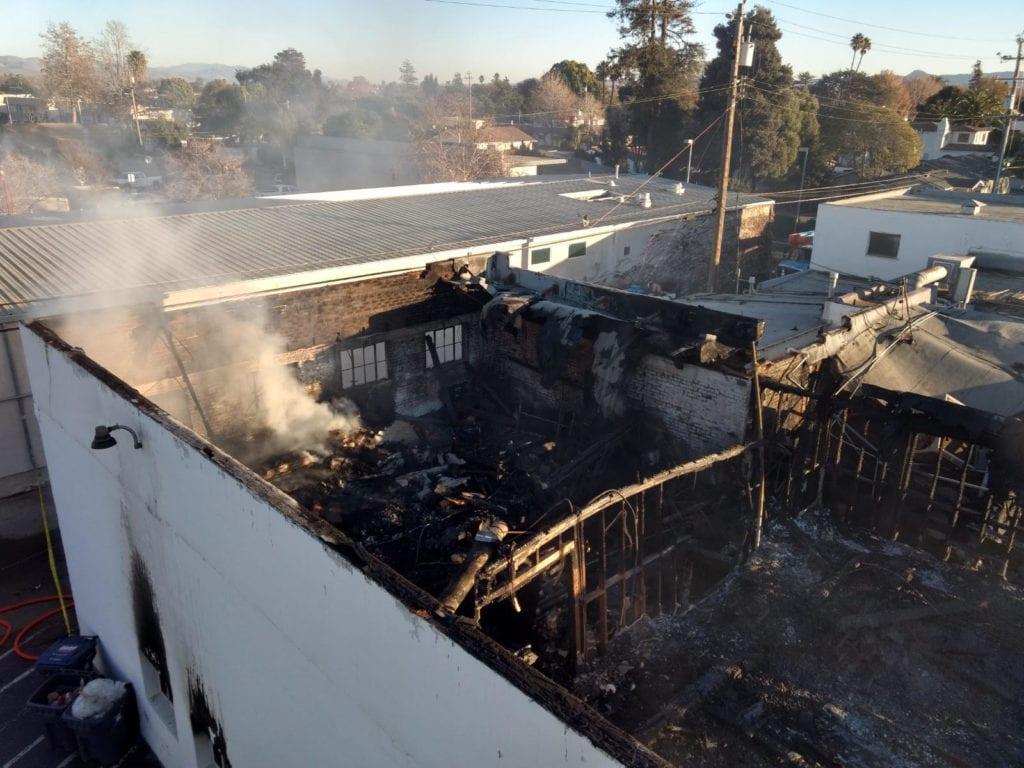 Santa Maria fire