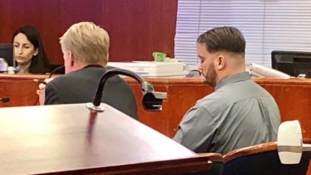 Jonathan Highley during sentencing Friday. (KSBY photo)