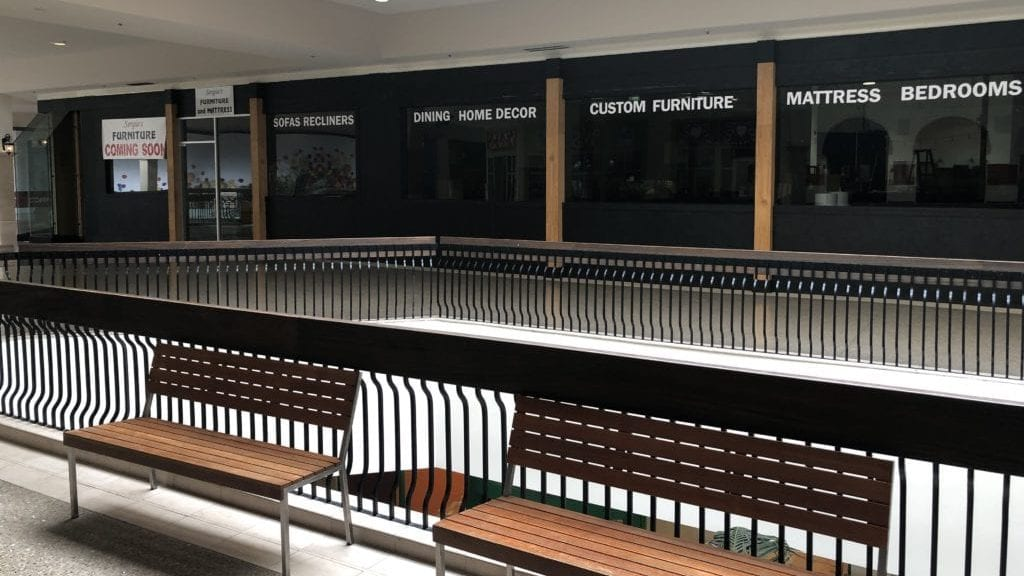 Sergio's Furniture is set to open in the Santa Maria mall March 1. (KSBY photo)