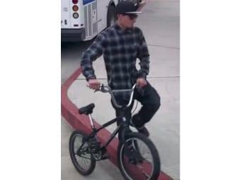 A man Grover Beach police say is a person of interest in a destructive device case.
