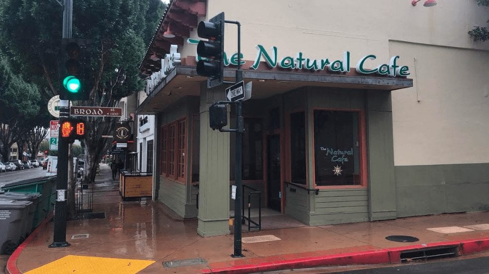 Burger Village will be opening in the former Natural Café location in downtown SLO (KSBY photo)