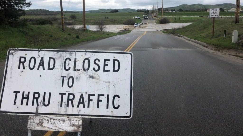 Truck flooding