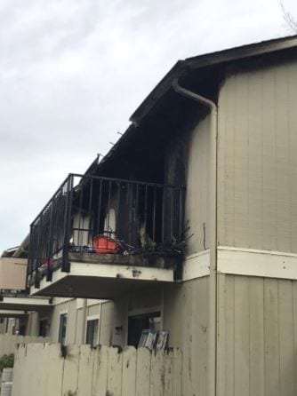 Paso Robles apartment fire