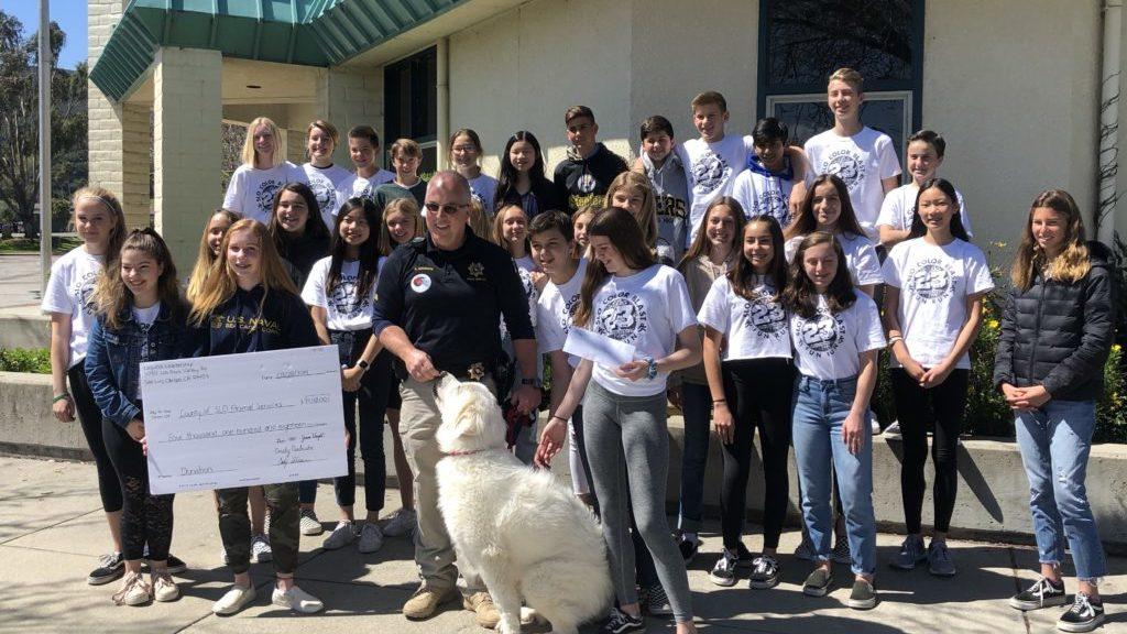 Student donation