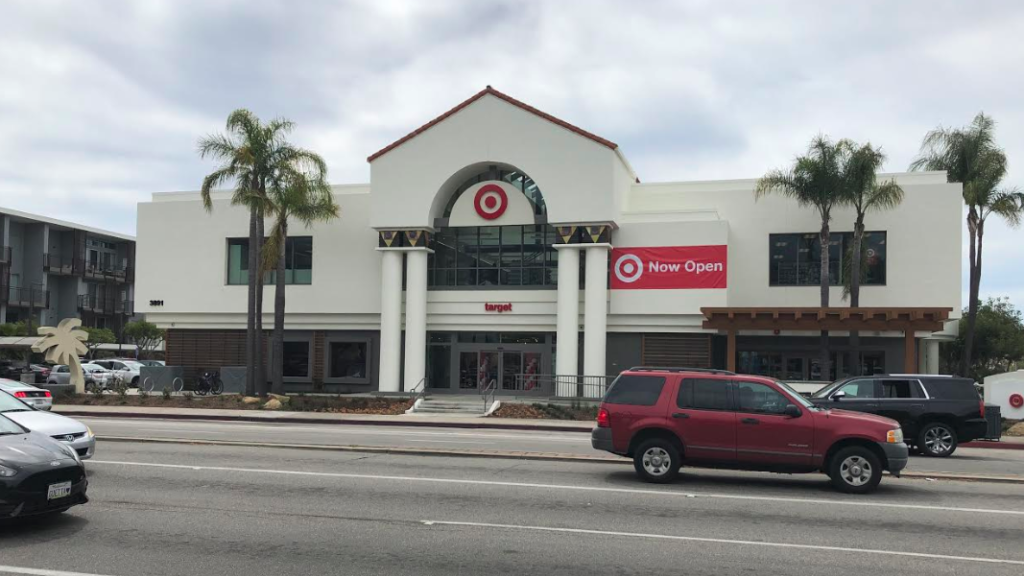Target is now open in Santa Barbara. (KSBY photo)
