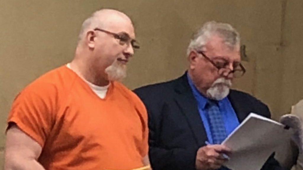 David Lamb during sentencing Wednesday morning. (KSBY photo)