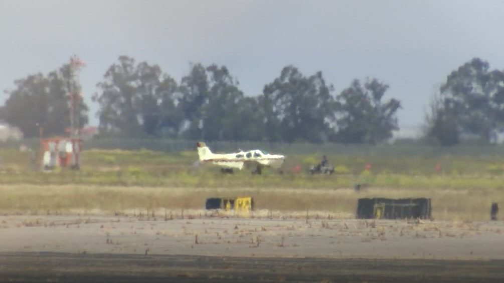 Santa Maria Airport incident