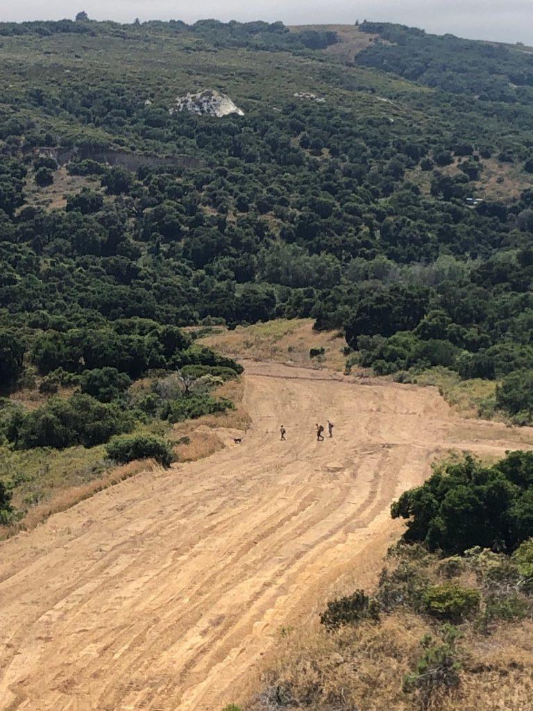 Search and rescue teams Saturday (Courtesy: Santa Barbara County Sheriff's Office)