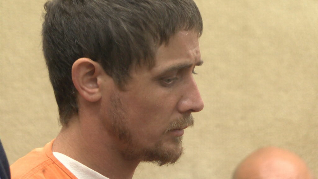 Aleksandr Moiseyev during his arraignment July 17. (KSBY photo)